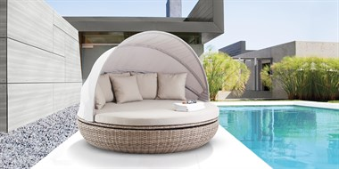 Rattan Daybed Cardiff